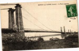 CPA BONNY-sur-LOIRE - Le Pont suspendu (270513)