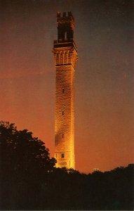 MA - Cape Cod, Provincetown. The Pilgrim Monument