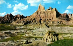 South Dakota Badlands National Monument Looking North