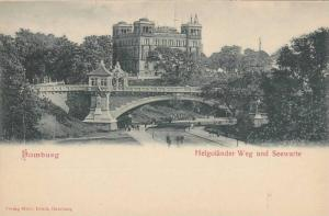 Helgolander Weg Und Seewarte, Hamburg, Germany, 1900-1910s