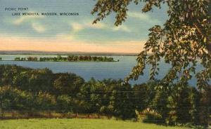 WI - Madison, Lake Mendota, Picnic Point