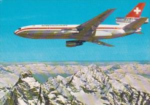 Swissair DC 10