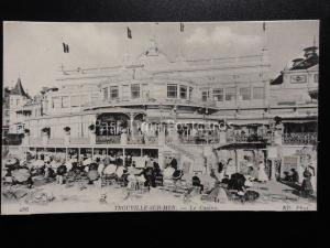France: TROUVILLE SUR MER  Le Casino - Old Postcard