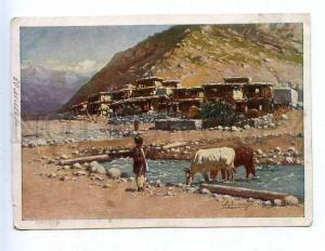 184512 RUSSIA SOMMER Aul in Dagestan #3 ADVERTISING CFA