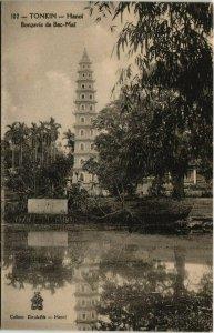 CPA AK VIETNAM Tonkin HANOI - Bonzerie de Bac-Mai (62186)