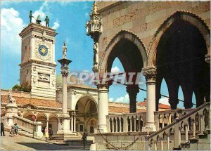 Postcard Modern Udine Place de la Liberte and Clock Tower