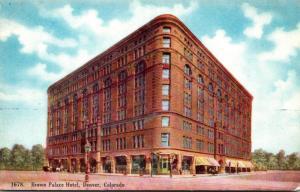 Colorado Denver Brown Palace Hotel