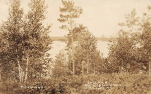 LP58 Star Lake  Wisconsin RPPC Postcard Ole Rismon's Resort Parfitt Photo