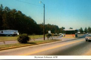 North Carolina Goldsboro Seymour Johnson Air Force Base Main Entrance