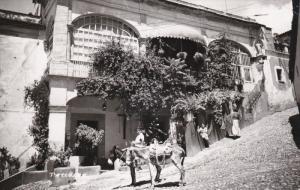 RP: Man on Donkey , Street View , TAXCO , Gro. Mexico , 30-40s #2