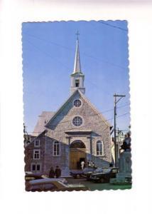 70's Cars, Notre Dame Victoires Church, Quebec, Emil Kirouac