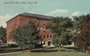 RIPON, Wisconsin, PU-1914; Ingram Hall, Ripon College