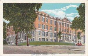 Massachusetts Haverhill Post Office  1935