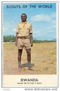 Boy Scouts of the World, RWANDA SCOUTS, 1968