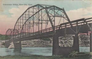 MILES CITY , Montana, 1908 ; Yellowstone Bridge