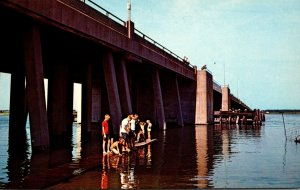 Maryland Ocean City Highway 50 Bridge Cat Walk