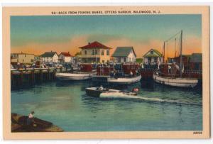 Back from Fishing Banks, Ottens Harbor Wildwood NJ