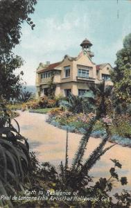 Path to Residence of Paul de Longre at Hollywood,  California,  PU_1909