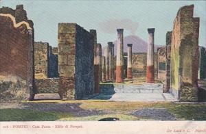 Italy Pompei Casa Pansa Edile di Pompei