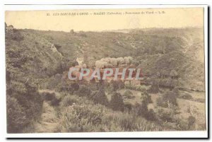 The Banks of the & # 39Orne Old Postcard Panorama Maizet Viard