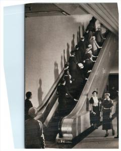 9574 IL Chicago   Marshall Field Co. Escalator