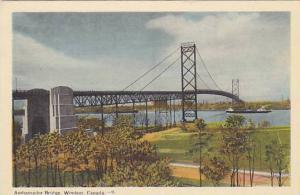 Ambassador Bridge, Windsor, Ontario, Canada, 1930-1940s