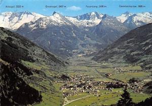 Bad Hofgastein mit Hohen Tauern Gesamtansicht Berg Ankogel, Feuersang