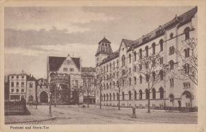 BONN, North Rine-Westphalia, Germany, 1900-1910´s; Neues Postamt Und Stern Tor
