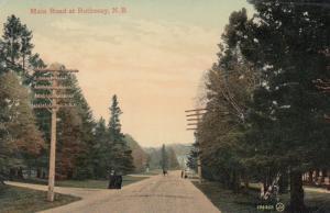 ROTHESAY , New Brunswick , Canada , 00-10s ; Main Road