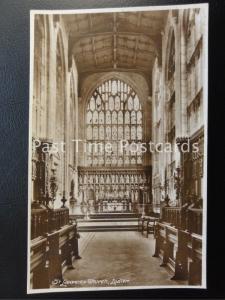 Vintage RPPC - St. Lawrence Church, Ludlow