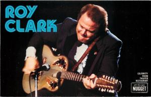 Reno Nevada~Nugget~Roy Clark~Hee Haw Fame~I'm A Grinnin~1970s Postcard