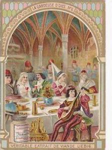 Liebig Vintage Trade Card S783 The Goose Girel No 6  La Gardeuse D'Oies