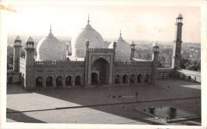 Lahore Pakistan Shahi Mosque Real Photo Antique Postcard J53860