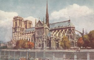 PARIS, France, 1900-10s ; NOTRE DAME , Exterior ; TUCK 945 No 32