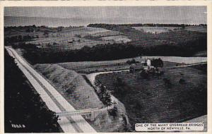 Pennsylvania Overhead Bridge North Of Newville Dexter Press