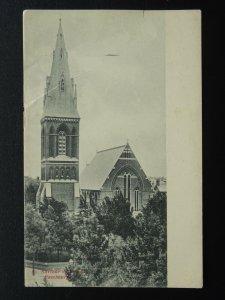 Sussex EASTBOURNE St Saviour's Church c1902 UB Postcard by Strange Bros