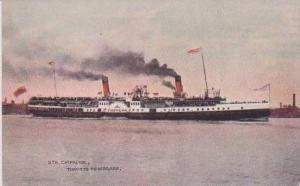 Steamer Chippewa at Sea from Toronto to Niagara, Canada 1900-10s