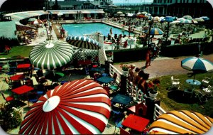 New Jersey Atlantic City The Brighton Showing Punch Bowl Terrace and Pool Area