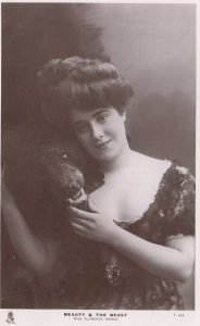 RP: Celebrity of the Stage , Beauty & The Beast , Miss Florence Warde , 1908 ...