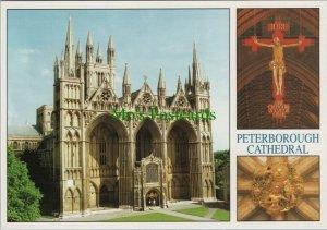 Cambridgeshire Postcard - Views of Peterborough Cathedral    RR10376