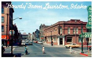Idaho Lewiston , Center of Town