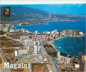 Postcard Modern Mallorca Magaluf View Aerienne