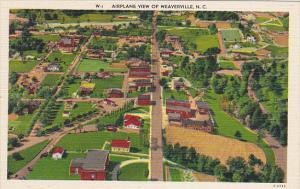 North Carolina Weaverville Airplane View
