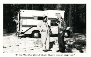 Humor - If you was that big ol' buck…   (hunting)