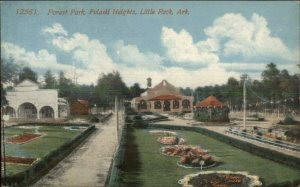 Little Rock AR Forest Park Pulaski Heights c1910 Postcard