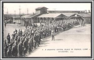 St Nazaire France WW I US Army Camp Gigantic Eating Place No. 5
