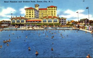 New Jersey Ocean City Hotel Flanders and Outdoor Pools