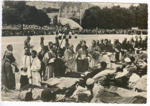 RP  Lourdes, France, 1940s : Benediction des Malades