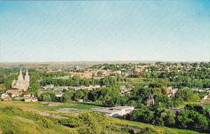 Canada Skyline View Looking South Medicine Hat Alberta