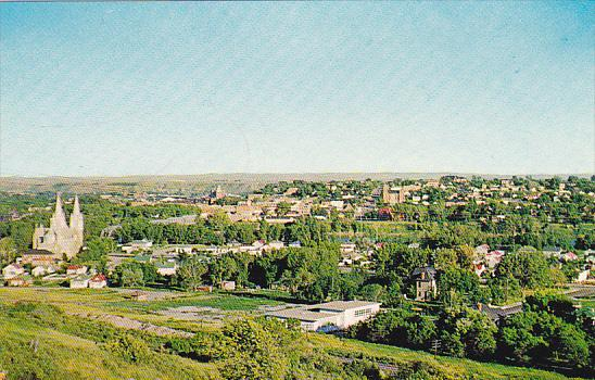Canada Skyline View Looking South Medicine Hat Alberta